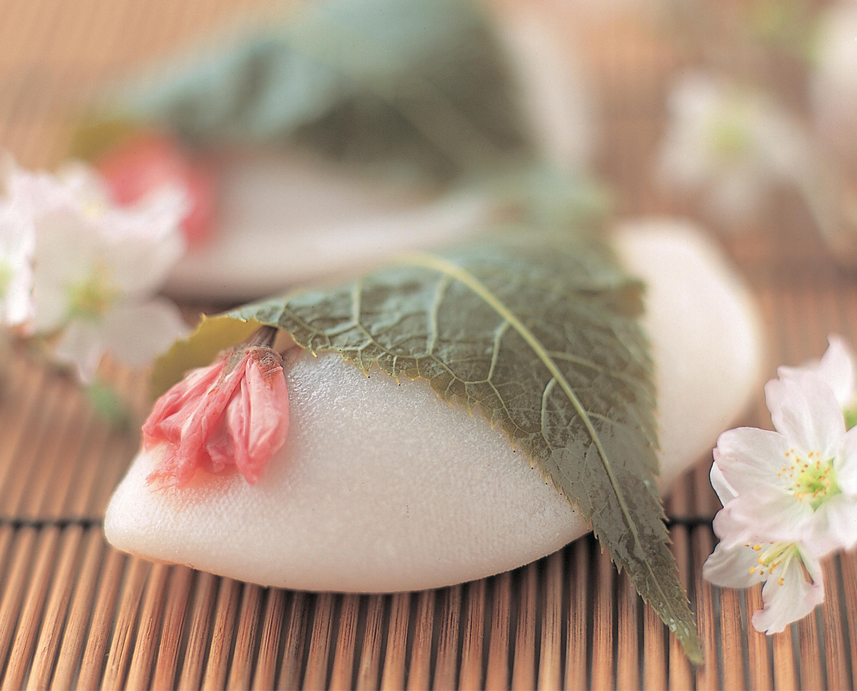 昔ながらの桜餅 貝合せ
