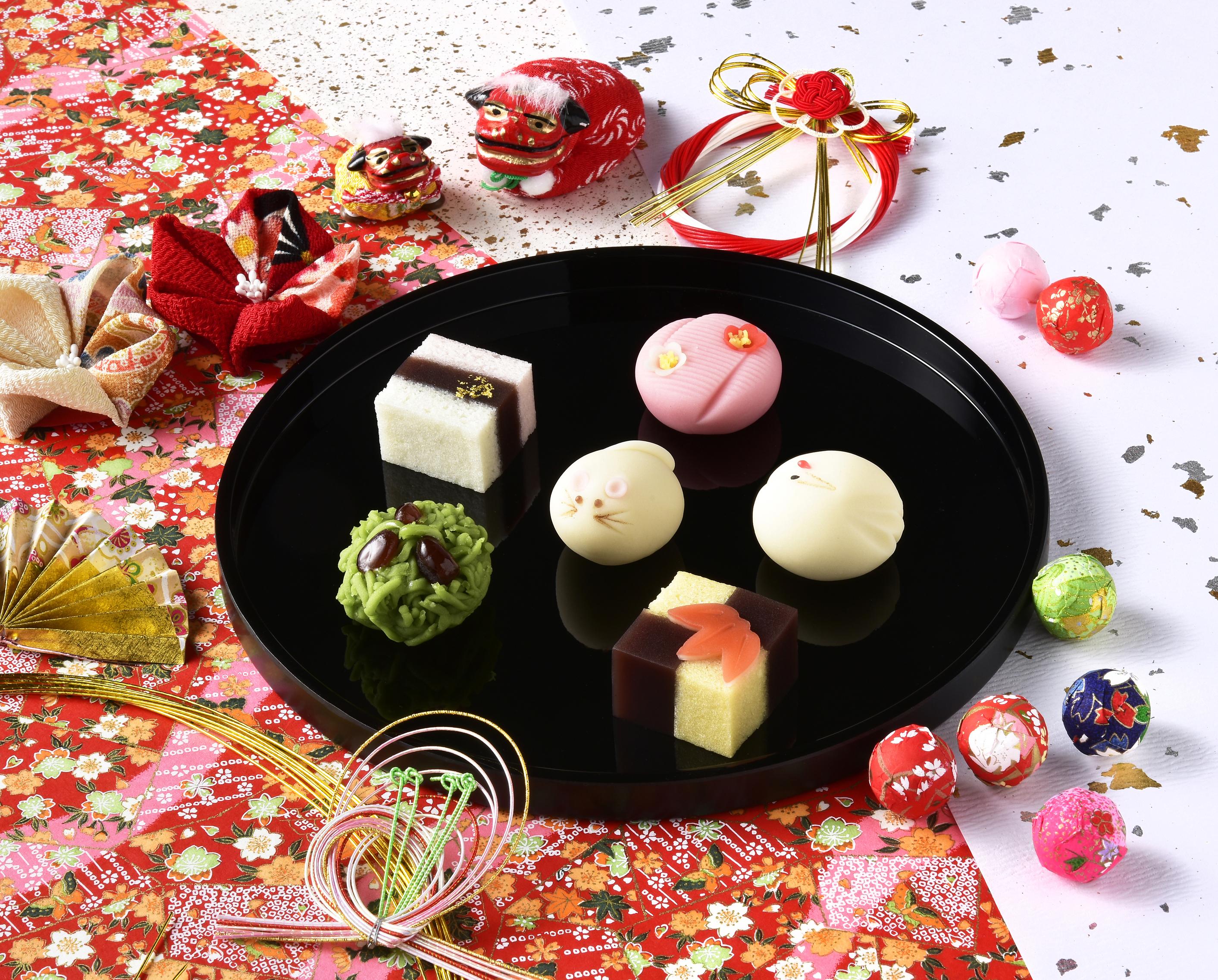 1月の上生菓子